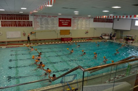 Since boys' swimming concluded their season at the end of February, many swimmers and new athletes have decided to join the water polo teams.