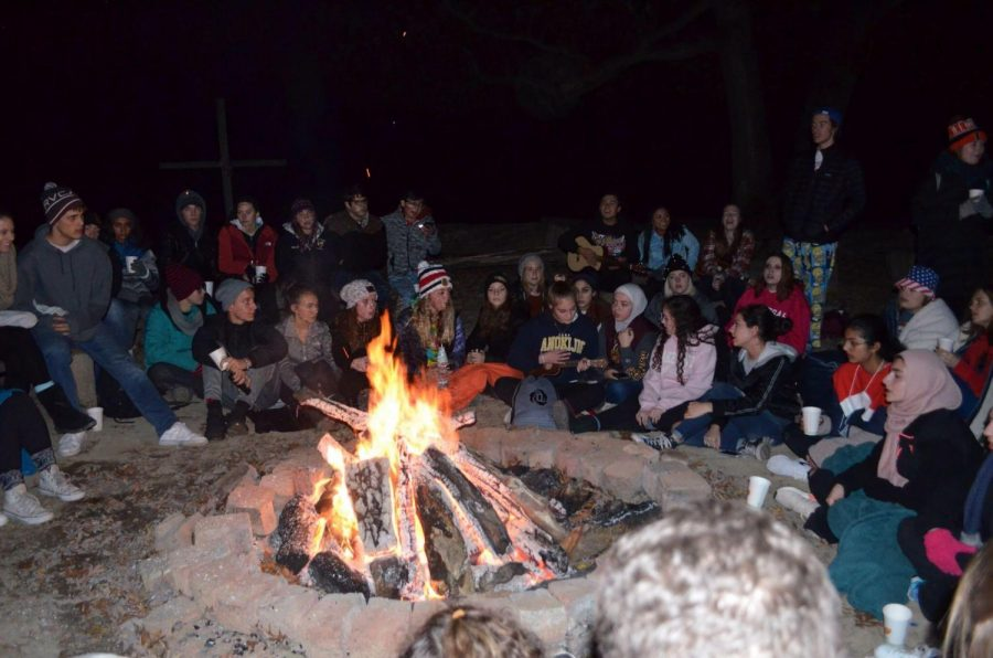 During the retreat, students did many activites to bond which is what the middle schoolers will do. However, Snowflake will take place indoors at school rather than in an outdoor retreat.