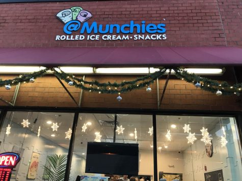At Munchies in downtown Naperville is quickly becoming a new hit, as many students visit for a new, popular dessert.