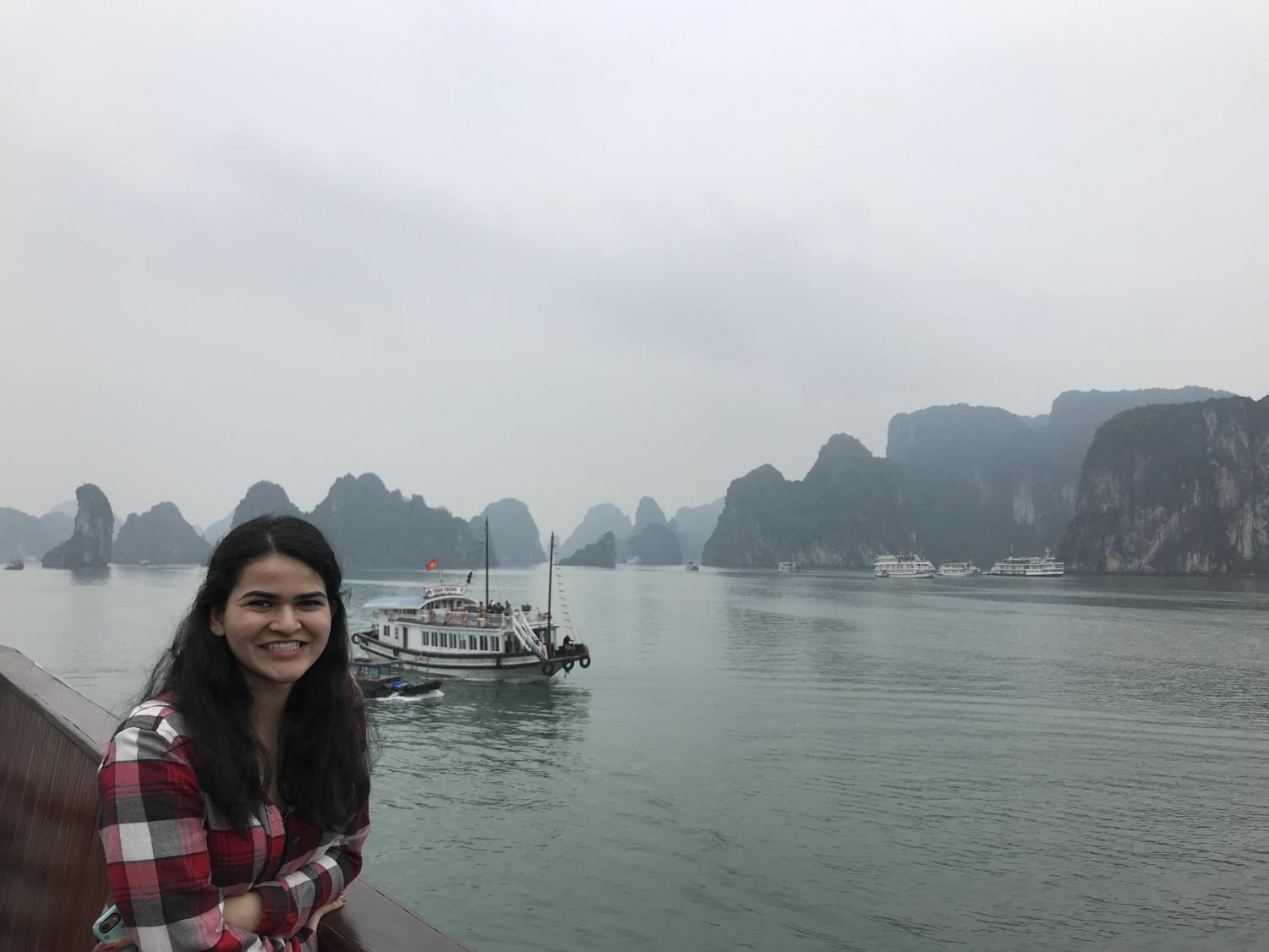 Sarina Upadhye, junior, traveled to Vietnam over winer break and posted this picture on her Instagram.