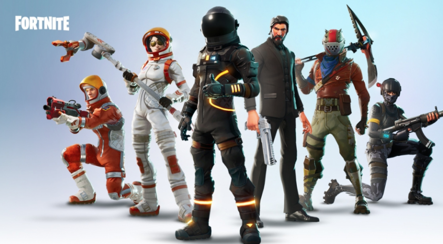 Within the game, players have a variety of skins, or costumes, to choose from.