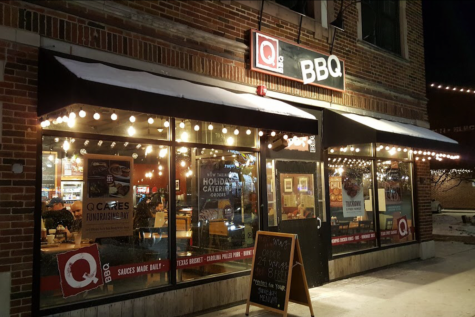 Q-BBQ is a lively, bright, and bustling restaurant in the business district of La Grange.