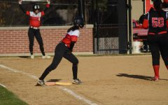 On Friday, April 20, the softball team played against Proviso West at home.