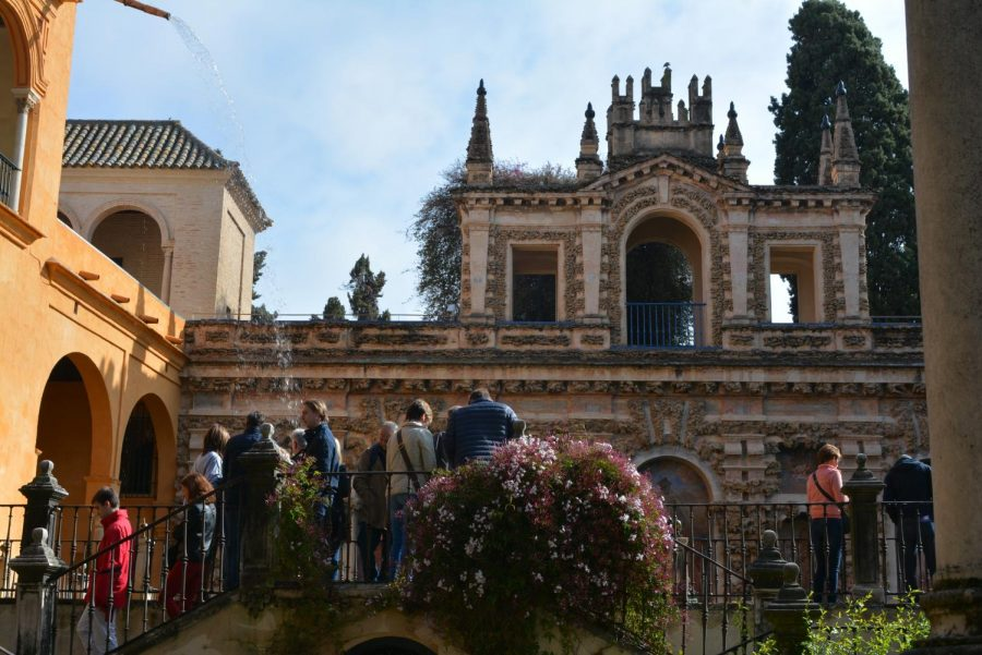 The trip included a day in Granada, where students could visit the Alhambra, an old palace with a long history.