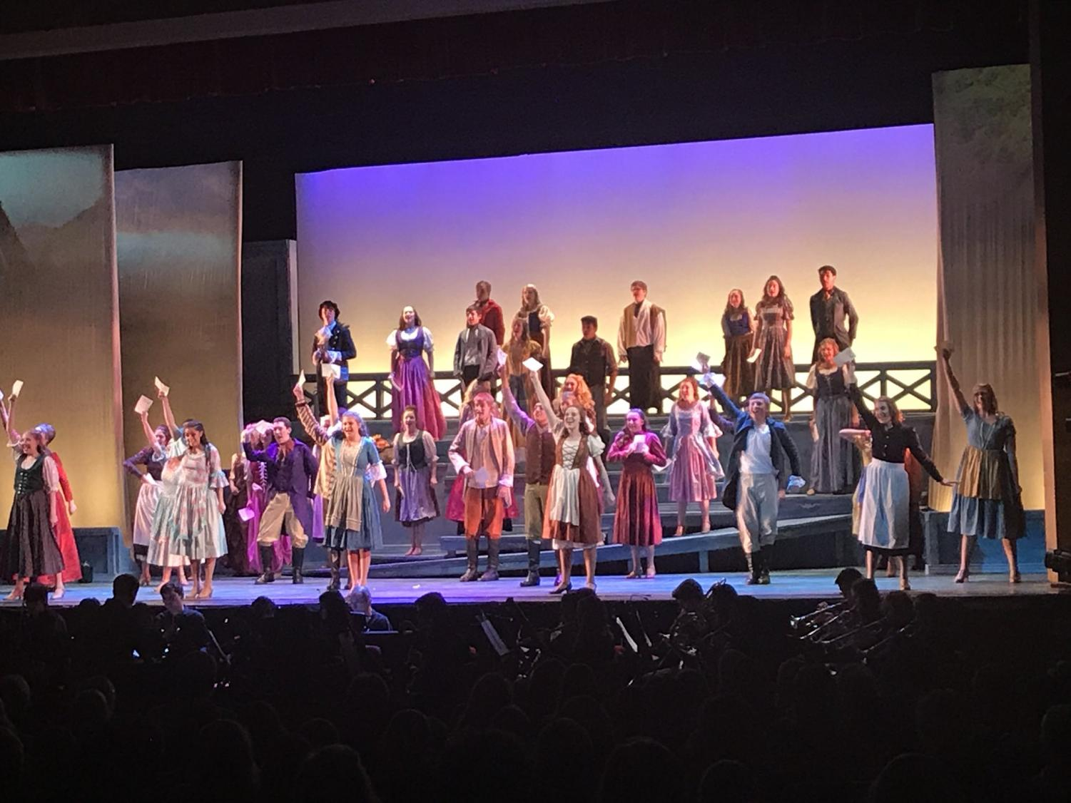 From Thursday, April 19 to Saturday, April 21, Drama Club students performed in