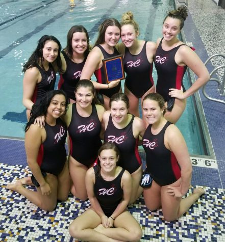 The varsity girls water polo team played against the top-seeded Oak Park River Forest High School on April 24.