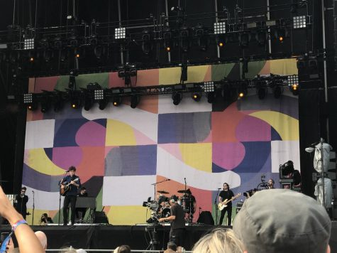 Artist Vance Joy, pictured here at Lollapalooza, is featured this month after putting out a new album in late February,