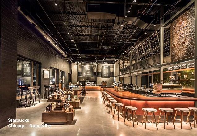 The urban vibe creates an enjoyable experience for customers.