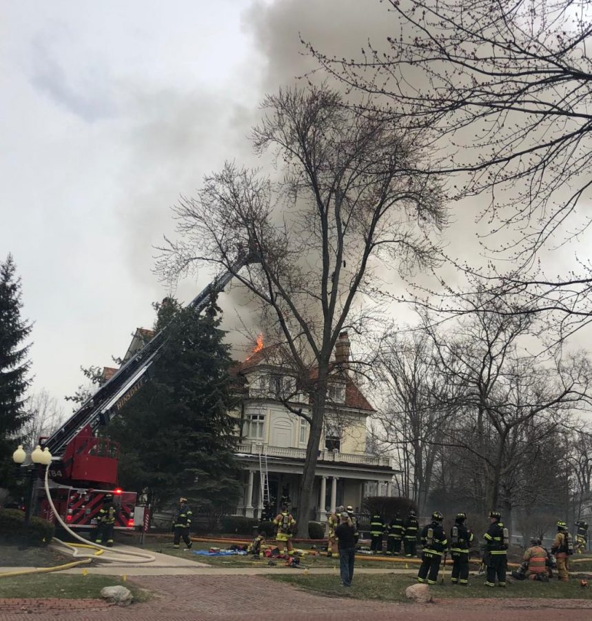 On April 11th a house located in Hinsdale on sixth street suddenly caught on fire, causing many neighbors and the rest of the town some commotion.