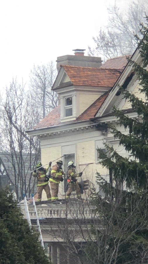 The fire lasted for nearly 5 hours, resulting in long and harsh conditions for the firefighters.