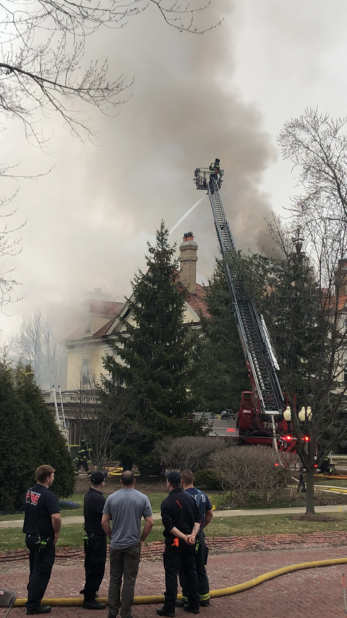 With over 100 firemen and 30 firetrucks, the men and women who were on the job worked hard to put the fire to an end and prevent any further damage to the house and the families belongings.