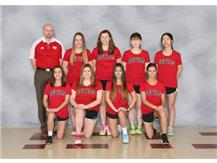 The girls varsity tennis team is headed over to Eastern Illinois University to play in the State meet which is on May 10 and May 11