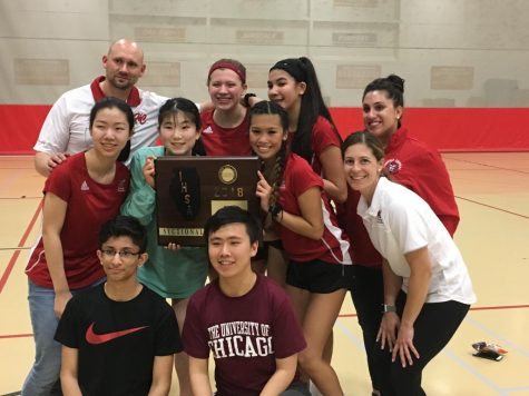 Girls badminton wins sectionals