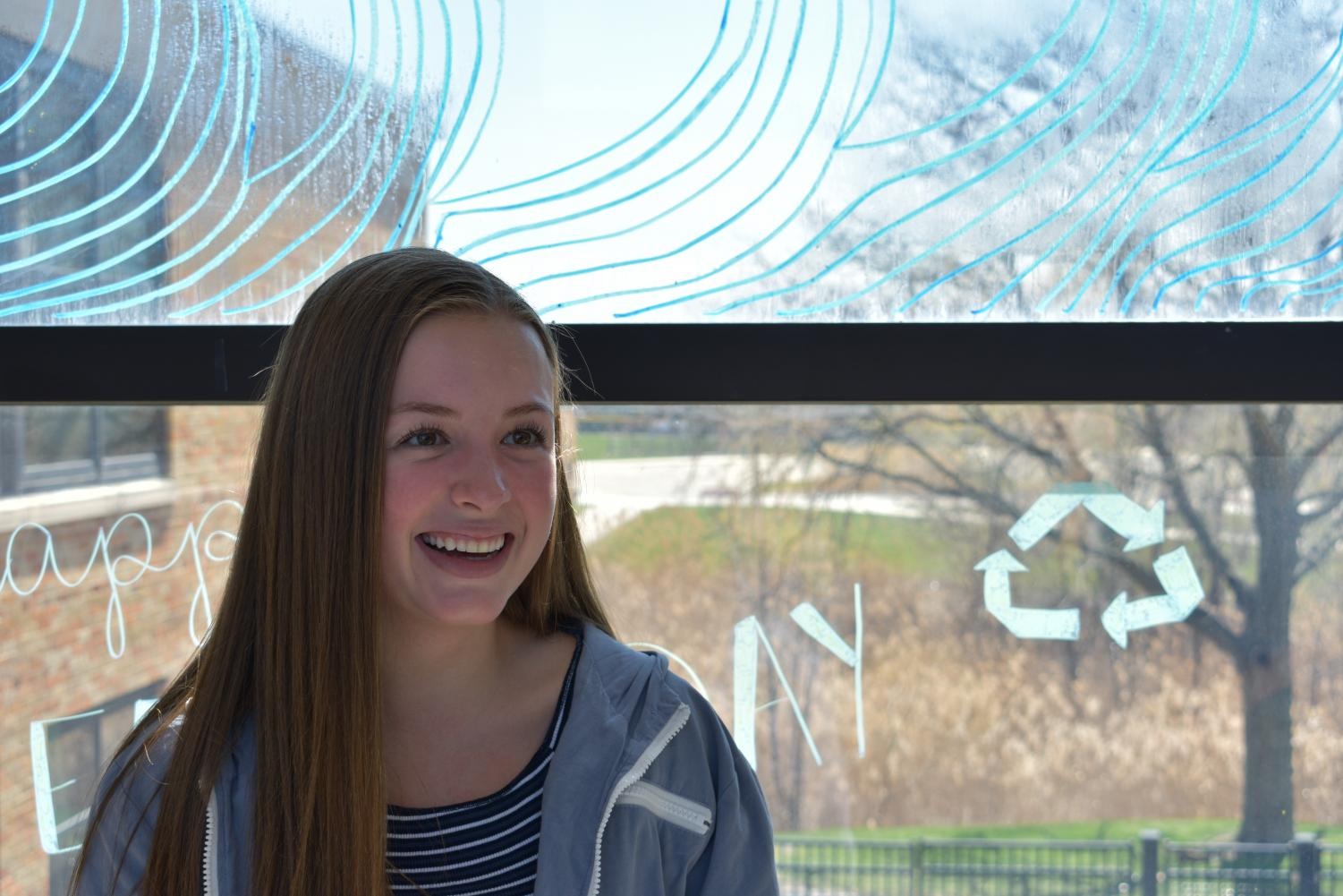 Gabrielle Sullivan, sophomore, is pursuing her dream of a career in fashion by taking the next steps into the professional world through the Nordstrom Ambassador Program.