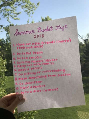 With summer quickly approaching, many students have thought of fun activities to do during the time off from school.