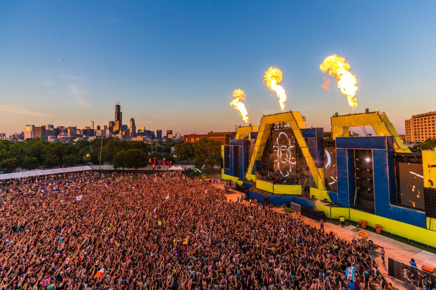 Spring Awakening, a rising EDM festival, attracts many teenagers every year.