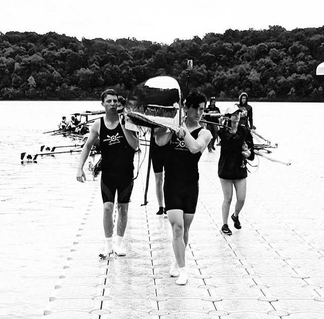Peter Hughes (Junior), Ryan Halpin (Sophomore), Sam Meccia (Lyons Township Junior), and Sean Conway (Junior) rowed and qualified for the boys novice 4+ Grand Final, despite not receiving the opportunity to place in the final due to hazardous weather.