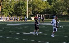 Boys lacrosse pulled off a win against Wheaton North at their home game on May 21.