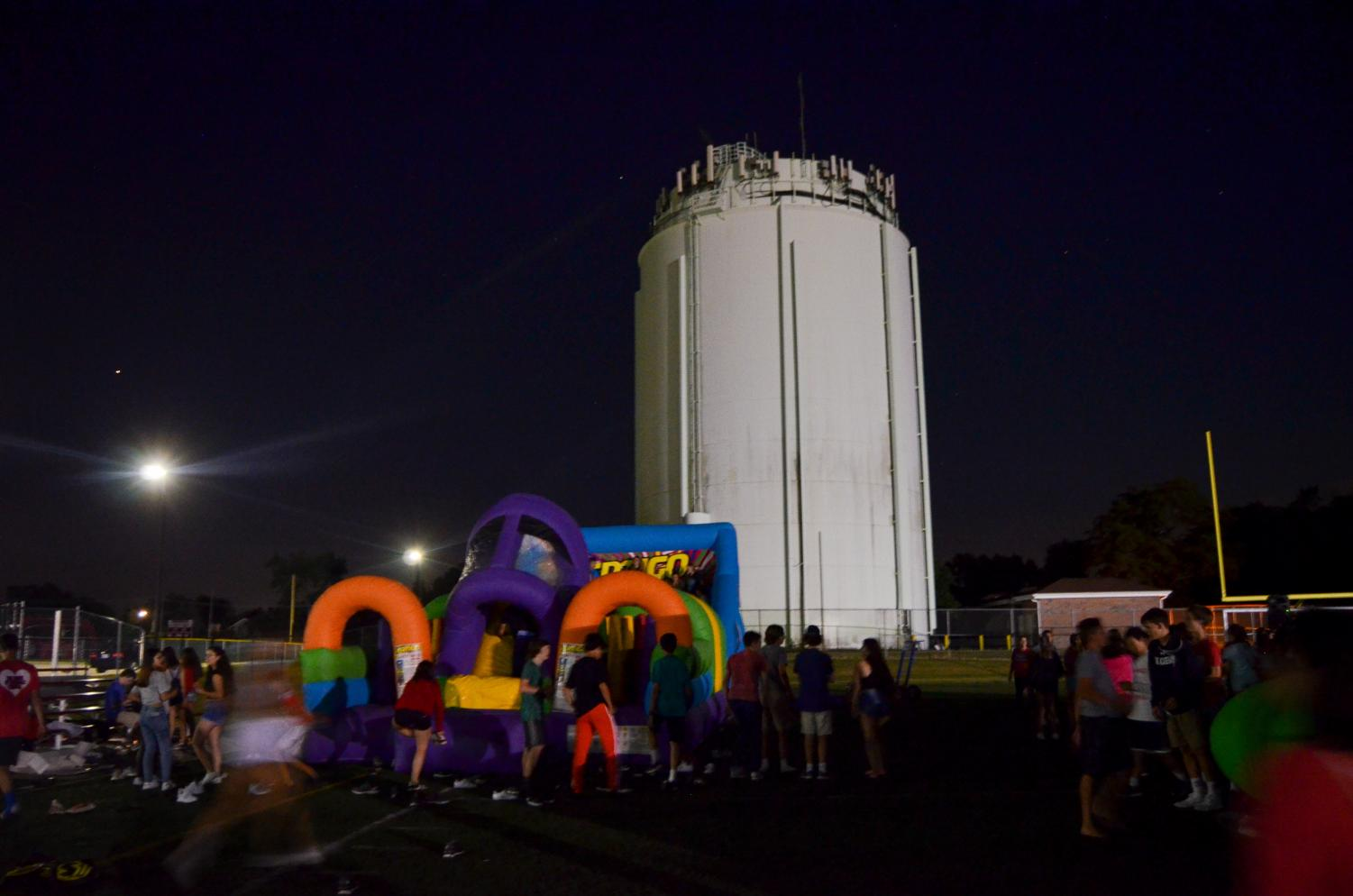 On Friday, Aug. 17, the school held its annual Back to School Bash at the Tower Field.