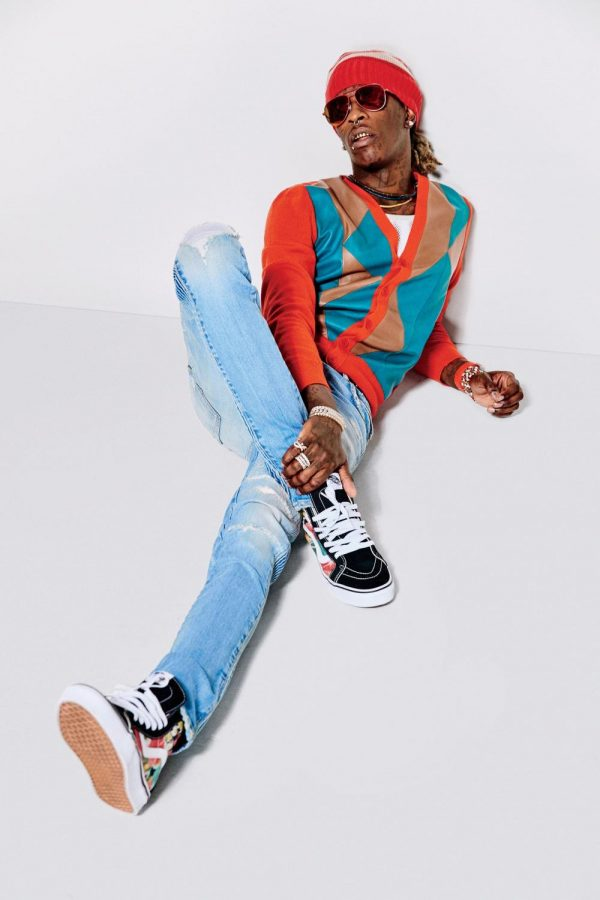 Young Thug is as much of a fashion icon as he is rap icon.