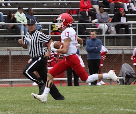 Varsity football works quick against Proviso West