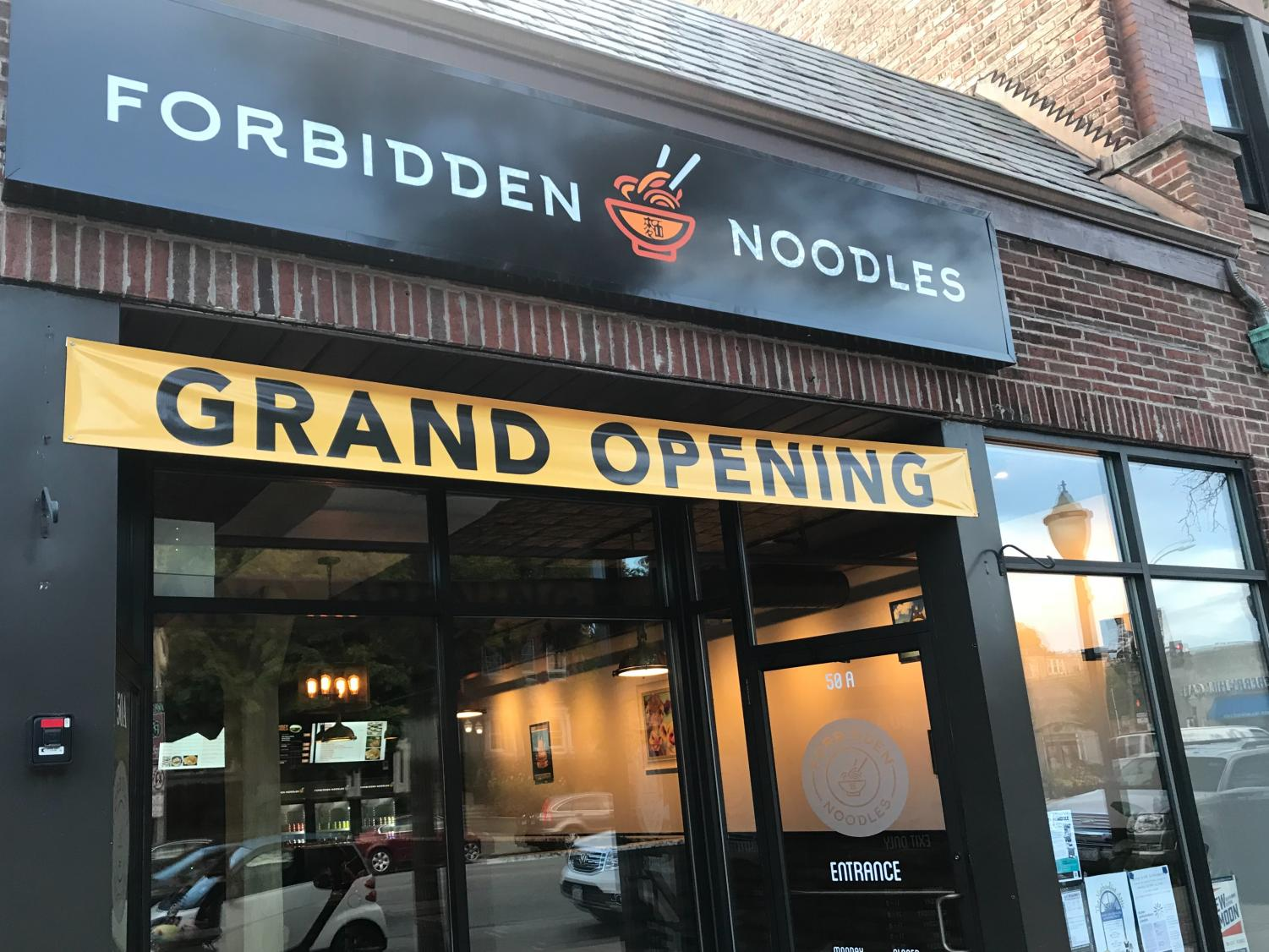 Forbidden Noodles opened in downtown LaGrange July 10.