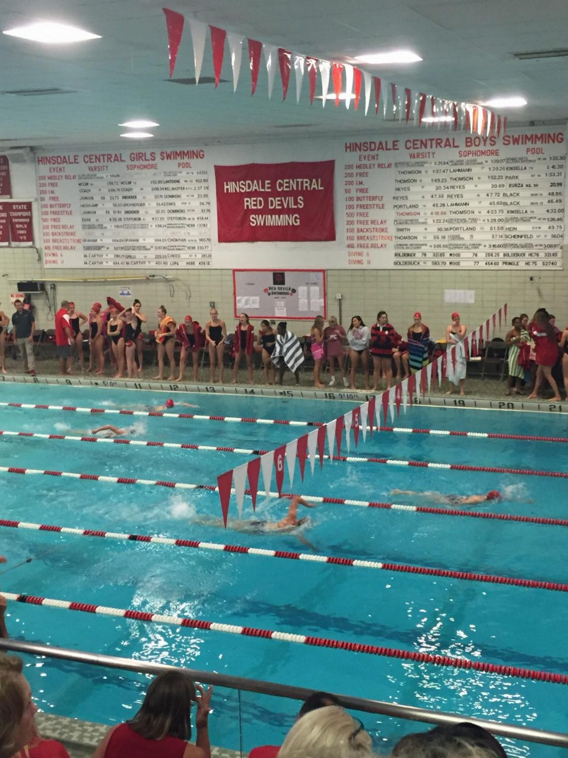 The swim meet against LT is highly anticipated because of the long-held rivalry between the teams.