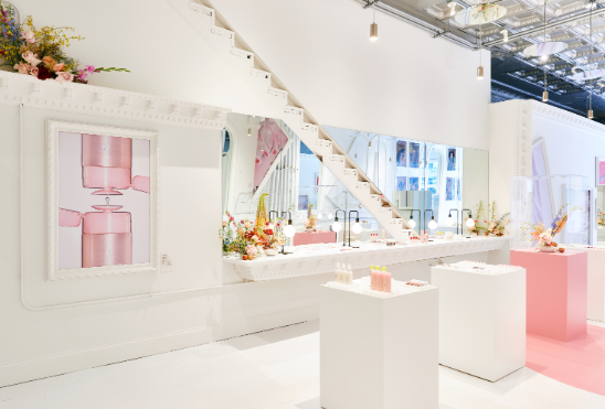 The Glossier pop-up shop in Chicago opened in August and will close in late October.