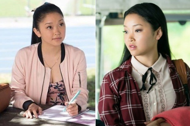 Lara Jean (played by Lana Condor), from the hit movie