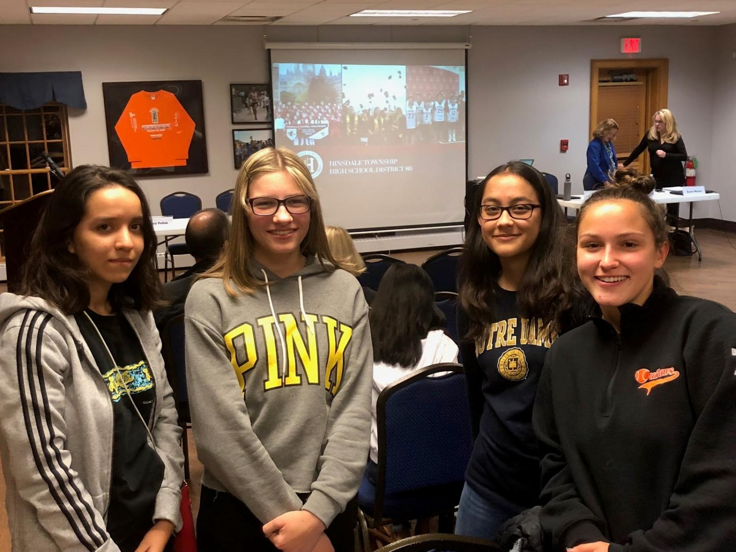 Students from both South and Central attended the meeting on Oct. 17 to learn more about the upcoming referendum vote on Nov. 6.