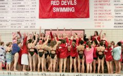 Girls' Swim & Dive does not get to compete in the school's facilities due to state standards for pool depth and size.