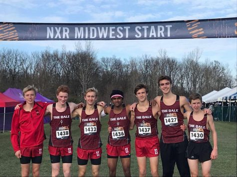 The varsity and junior varsity boys cross country team placed ninth and 11th at the Nike Regional meet.