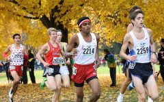 Piyush Mekla, sophomore, finished in the top 50 at the IHSA state cross country meet at Detweiler Park with a personal record of 15:01.