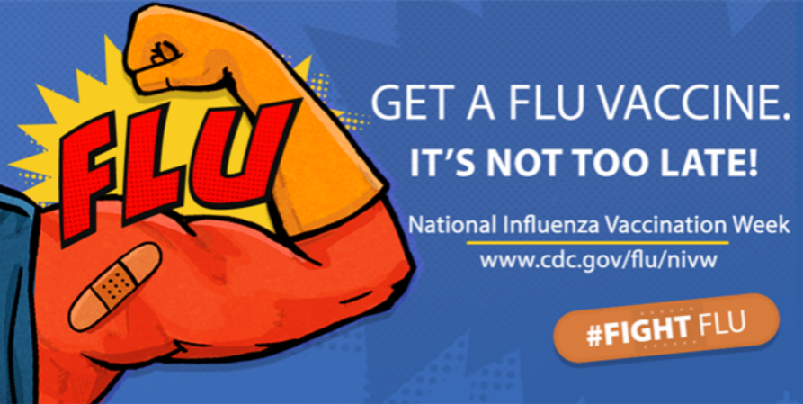 The Center of Disease Control spreads advertisements to encourage individuals to get the flu shot during flu season.