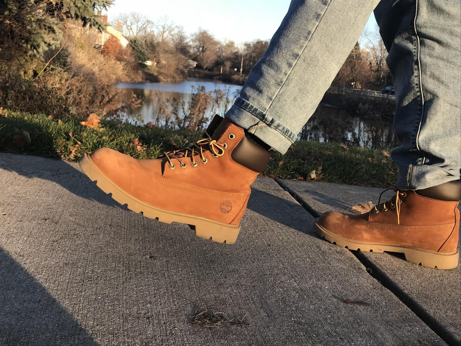 Timberlands are a perfect option for men looking for winter boots.