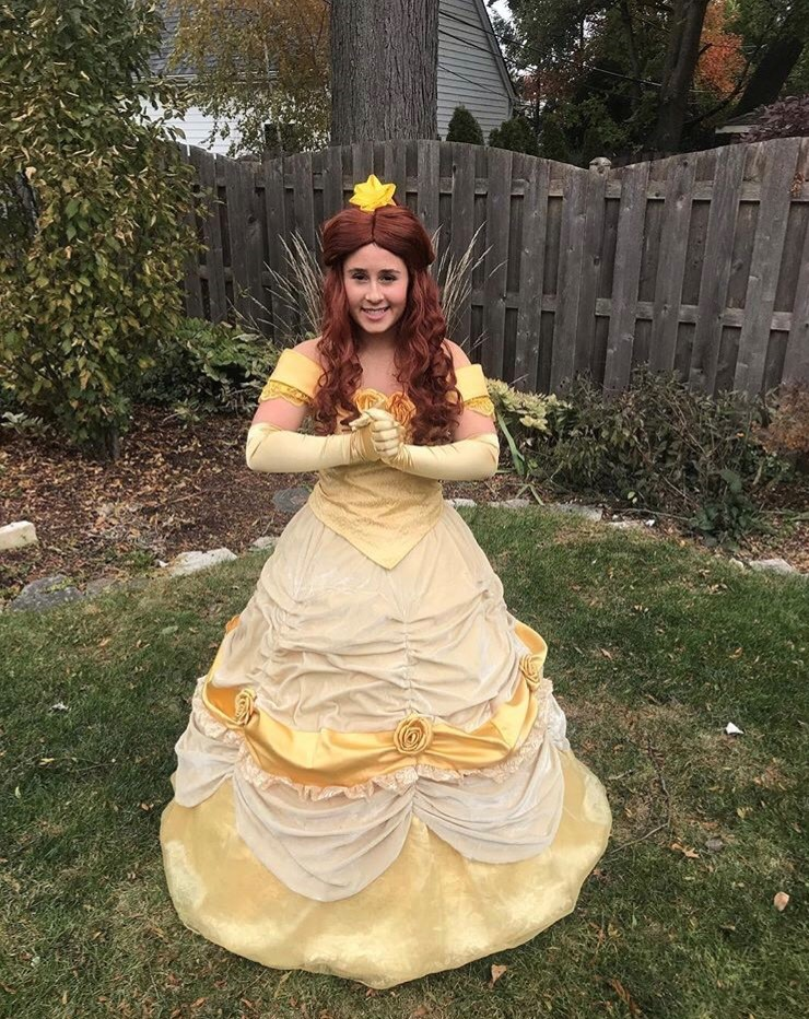Sophomore Alexandria Arendt started her own princess business in which she visits children's birthday parties as iconic princesses.