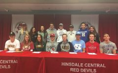 Senior athletes officially commit