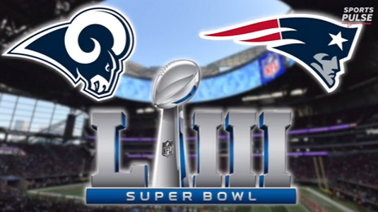 On Sunday, Feb. 3 Super Bowl LIII will kickoff at 5:30 CT with the Los Angeles Rams playing the New England Patriots.