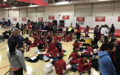 Girls track and field hosts the annual Red Devil meet