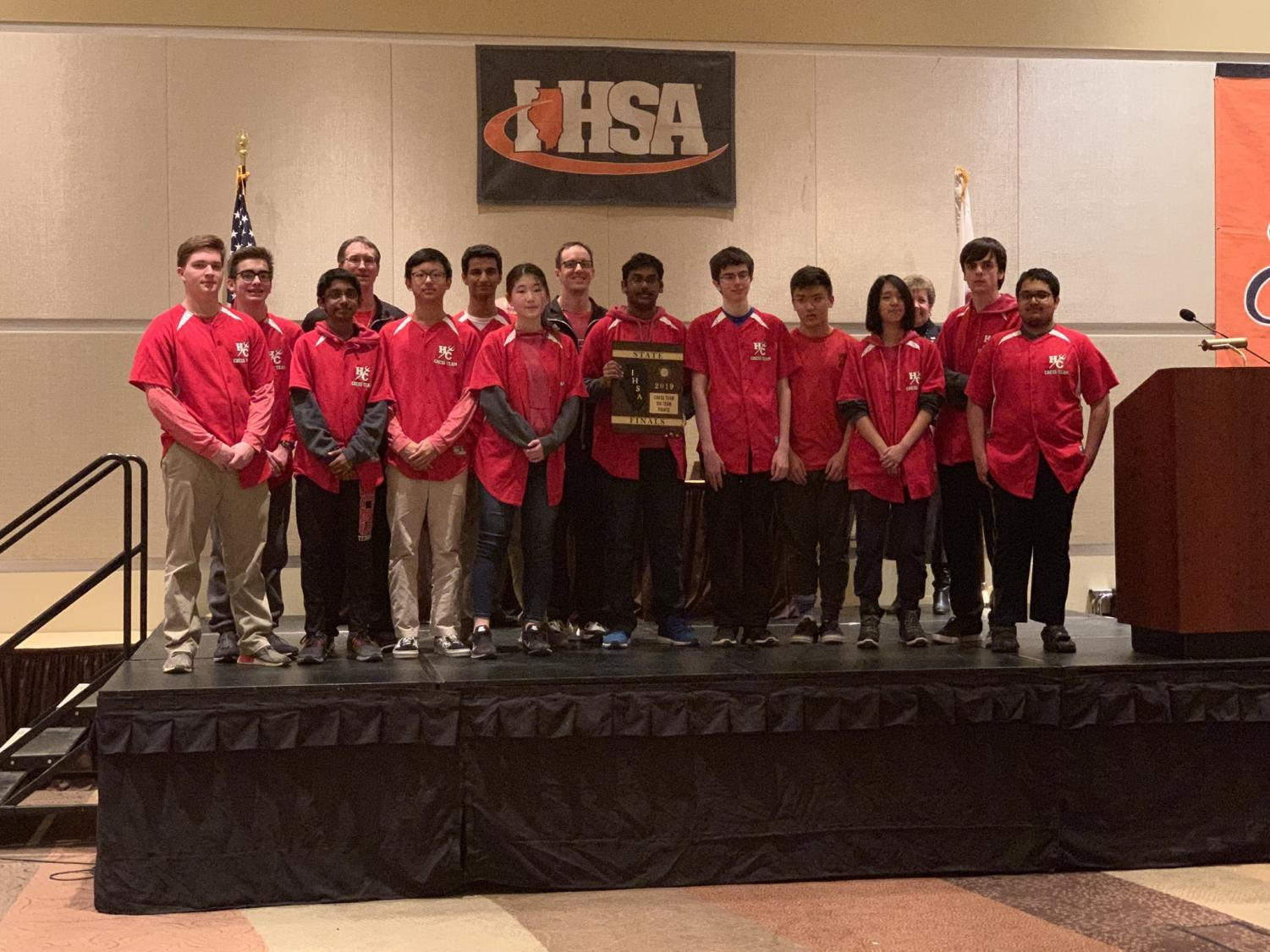 The chess team tied with five other schools for second place. After tiebreakers ,they placed seventh overall at the state tournament.