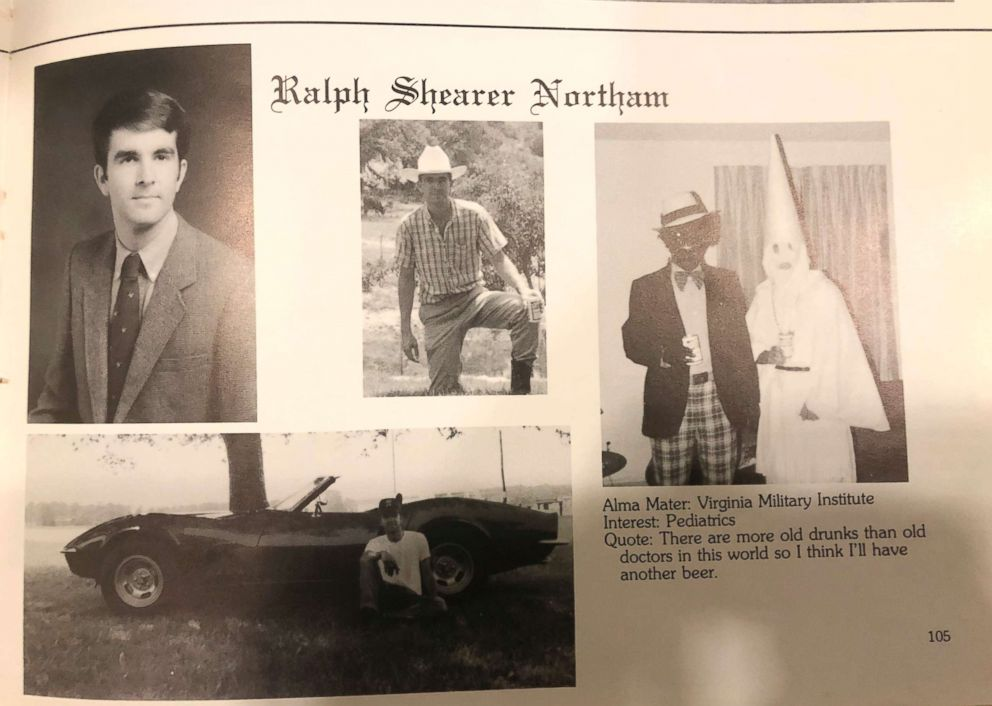 Virginia Governor Ralph Northam has been called to resign after photos emerged of his 1984 medical yearbook page of him wearing blackface.