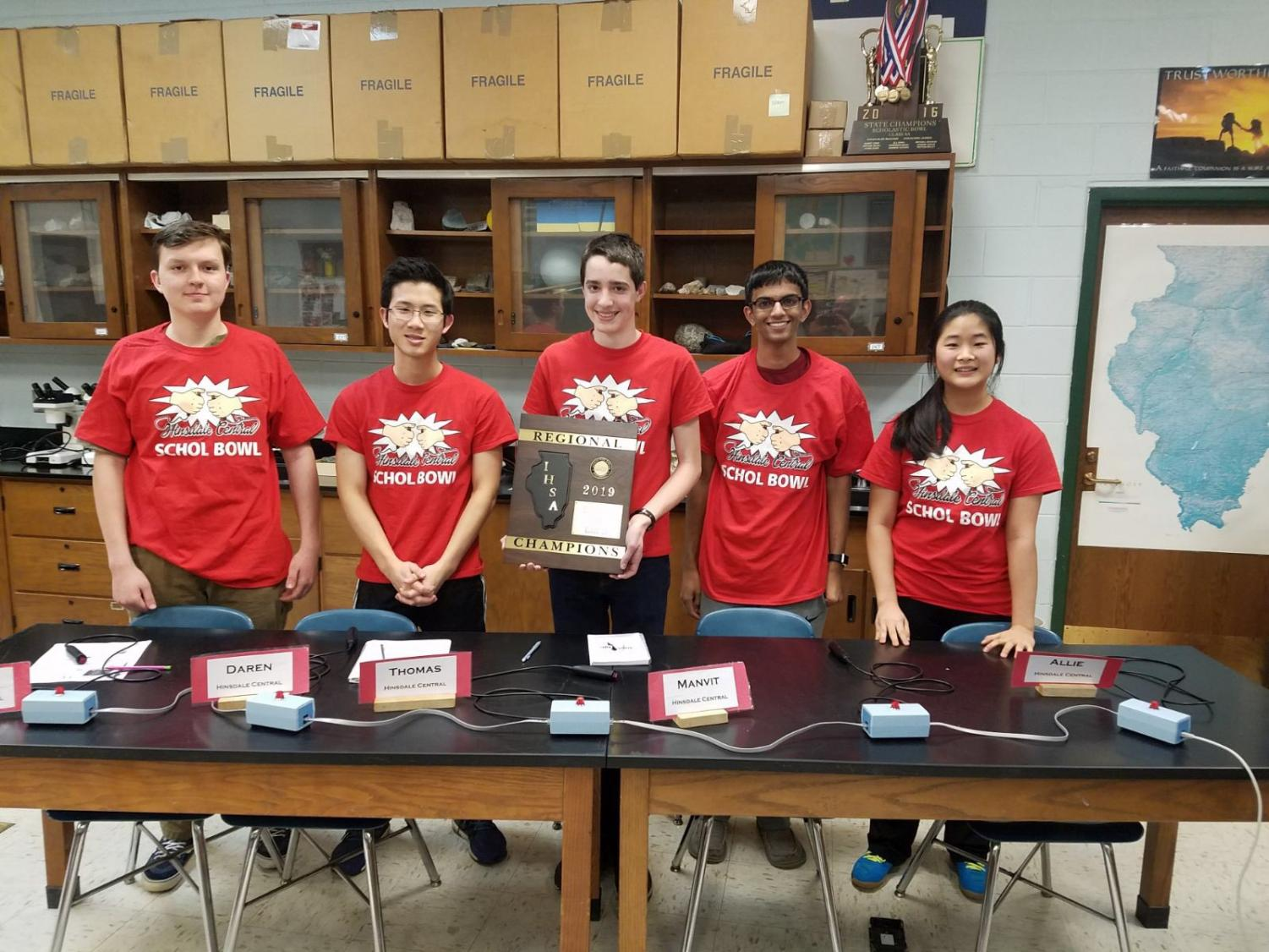 The Scholastic Bowl varsity team will attend Scholastic Bowl Nationals in Atlanta, Ga. on May 24 and 25.