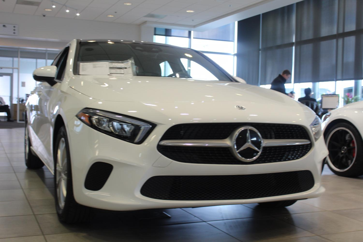 The new Mercedes-Benz A-Class appeals to younger buyers looking for luxury cars because it offers lower starting prices and opportunities for customization.