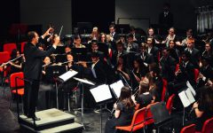 Band students perform in Winter Concert