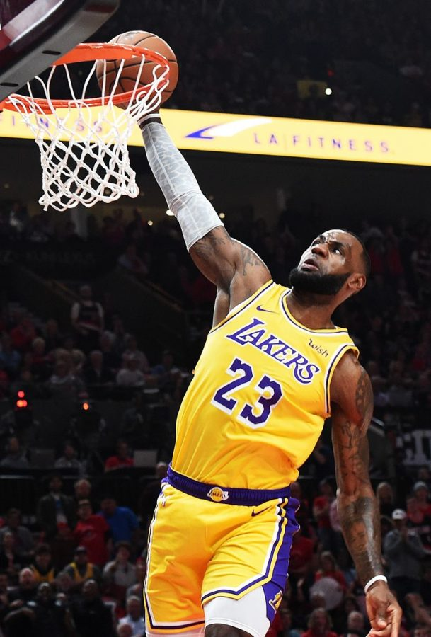 LeBron James is now fourth on the all-time scoring list after passing Michael Jordan.