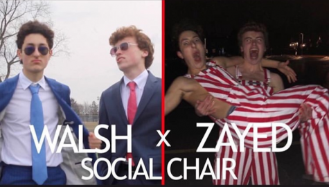 Anthony Zayed and Brennan Walsh