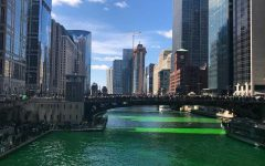 Chicago Goes Green for St. Patrick's Day