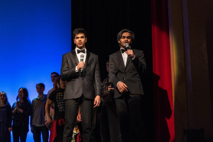 Senior MCs Ferzam Berki and Nabhan Rafiq ended the show by gathering all the acts on stage and doing closing regards.