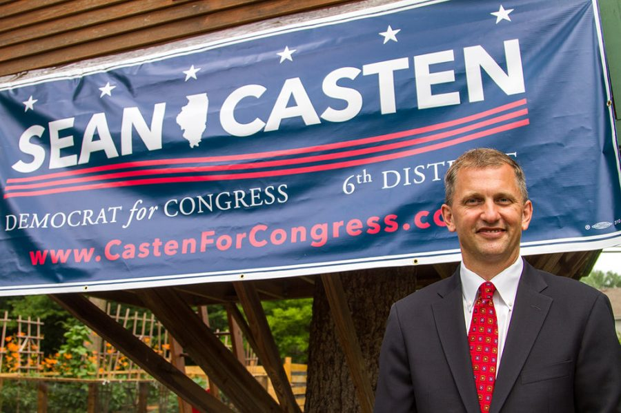 Congressman+Sean+Casten%2C+currently+residing+in+Downers+Grove%2C+visited+Central+to+speak+about+his+stances+and+reaching+compromise.