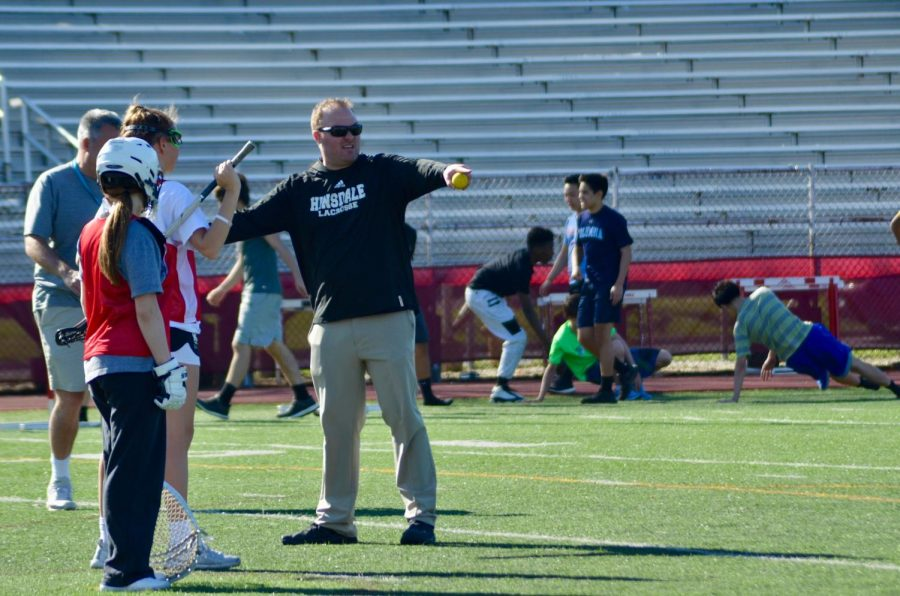 Mr. Dan Hartman, football and lacrosse coach as well as social studies teacher, will be leaving Central and taking a coaching position at Lyons Township High School.